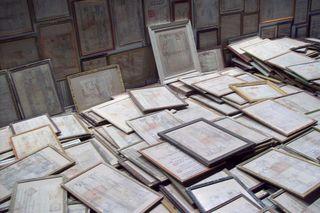 """mao tongqiang's """"land deeds,"""" detail"""