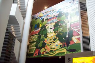 visible means of support: mount vernon, by kerry james marshall
