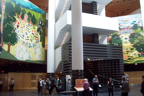 lobby of sfmoma