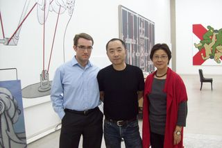 mr. wang and mrs. qing with david parker, beijing 2010