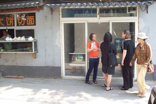 astrid wege, pauline j. yao, and rania @ arrow factory