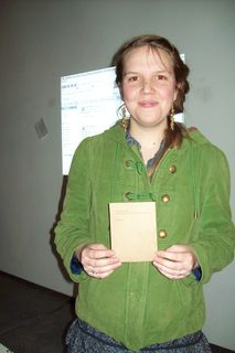 aly parrott, one of the workshop students