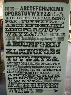 just another amazing specimen sheet, hamilton wood type museum