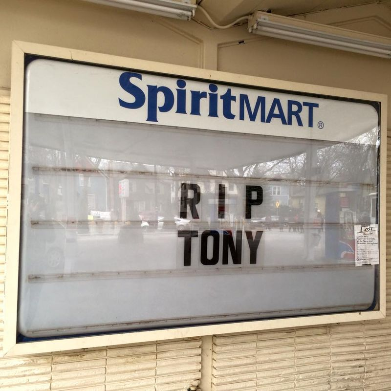 RIP tony